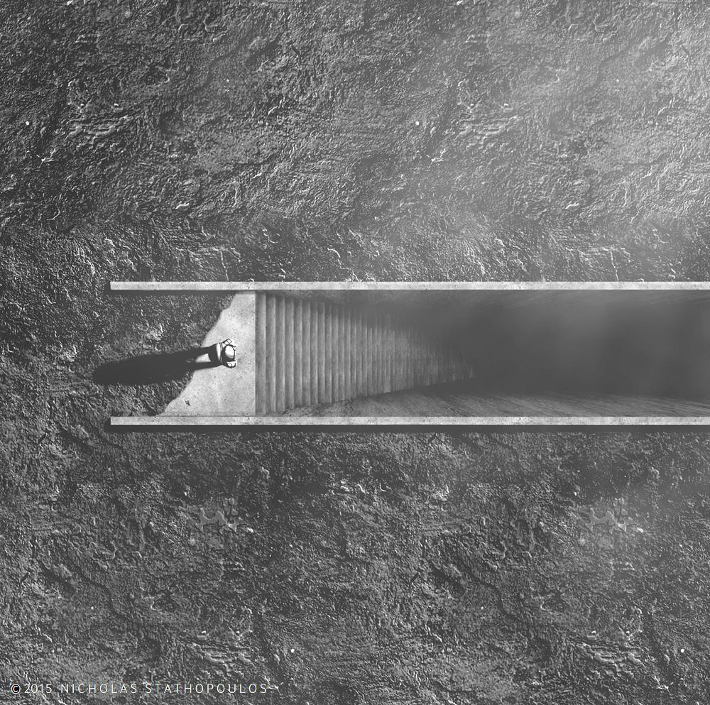 Lunar Stair // Nicolas Stathopoulos
