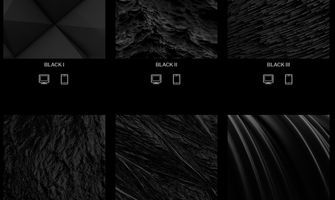 20c8370503 Christian Kolos » BLACK // Wallpaper series by Jean-Marc Denis